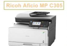 تعريف Ricoh Aficio MP C305